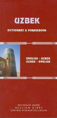 Uzbek-English / English-Uzbek Dictionary & Phrasebook (Paperback)