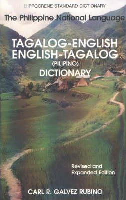 Tagalog-English/English-Tagalog Standard Dictionary (Hardback)