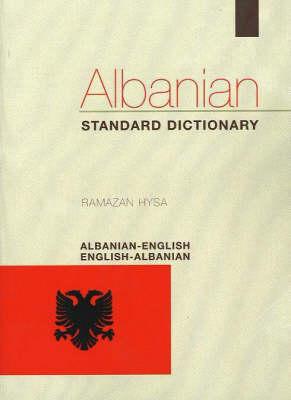 Albanian-English / English-Albanian Standard Dictionary (Paperback)