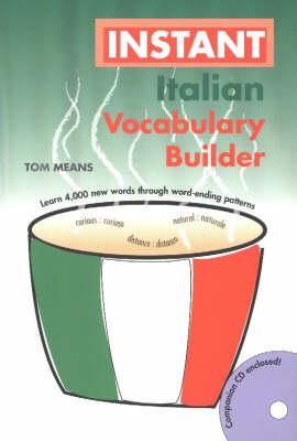 Instant Italian Vocabulary Builder (Paperback)