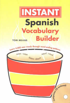 Spanish Instant Vocabulary Builder with CD (Paperback)