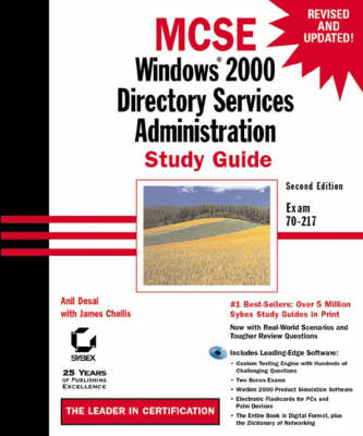 MCSE: Exam 70-217: Windows 2000 Directory Services Administration Study Guide (Hardback)