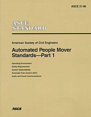 Automated People Mover Standards Pt. 1 (Paperback)