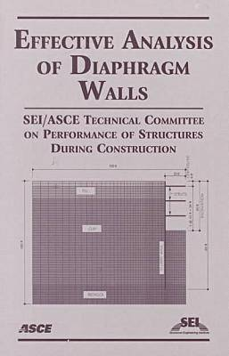 Effective Analysis of Diaphragm Walls (Paperback)
