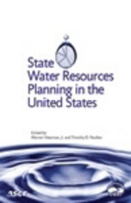 State Water Resources Planning in the United States (Paperback)