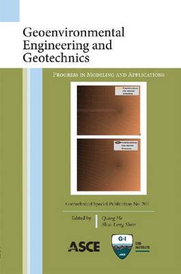 Geoenvironmental Engineering and Geotechnics: Progress in Modeling and Applications (Paperback)
