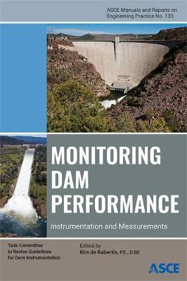 Monitoring Dam Performance: Instrumentation and Measurements - Manuals and Reports on Engineering Practice (Hardback)