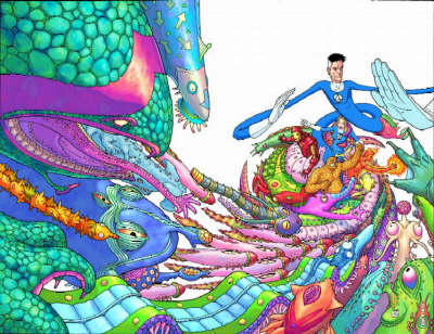 Fantastic Four Iron Man: Big In Japan (Paperback)
