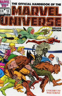 Essential Official Handbook Of The Marvel Universe - Deluxe Edition Volume 3 - Essential (Paperback)