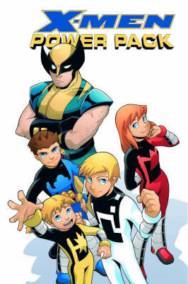 X-men And Power Pack: The Power Of X - Digest (Paperback)