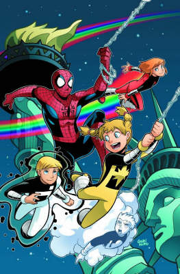 Spider-man And Power Pack: Big-city Super Heroes - Digest (Paperback)