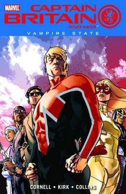 Captain Britain And Mi13 Vol.3: Vampire State (Paperback)