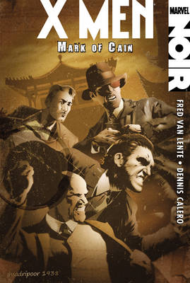Xmen Noir: Mark Of Cain (Paperback)