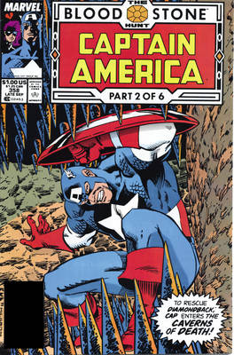 Captain America: Captain America (revised Edition): The Bloodstone Hunt Bloodstone Hunt (Paperback)