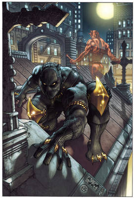 Black Panther: The Man Without Fear Volume 1: Urban Jungle (Paperback)