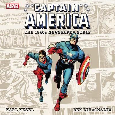 Captain America 1940s Daily Strip (Paperback)