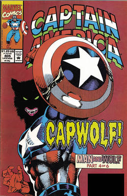Captain America: Man & Wolf (Paperback)