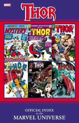Thor: Official Index To The Marvel Universe (Paperback)