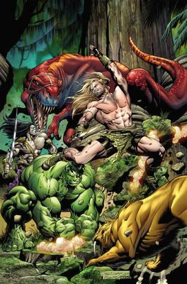 Incredible Hulks: Incredible Hulks: Planet Savage Planet Savage (Paperback)