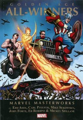 Marvel Masterworks: Golden Age All-winners Volume 2 (Paperback)