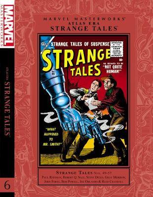 Marvel Masterworks: Marvel Masterworks: Atlas Era Strange Tales Volume 6 Atlas Era Strange Tales Volume 6 (Hardback)