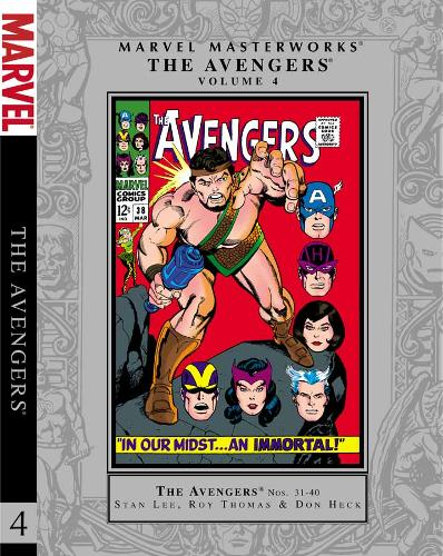 Marvel Masterworks: Marvel Masterworks: The Avengers, Volume 4 Avengers Volume 4 - Marvel Masterworks Avengers 04 (Paperback)
