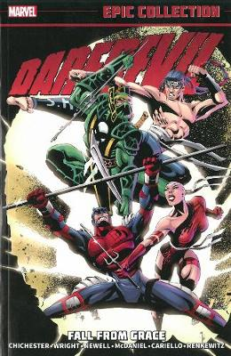 Daredevil Epic Collection: Fall From Grace (Paperback)