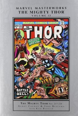 Marvel Masterworks: The Mighty Thor Volume 13 (Hardback)
