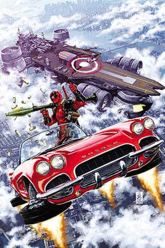 Deadpool Volume 4: Deadpool Vs. S.h.i.e.l.d. (marvel Now) (Paperback)