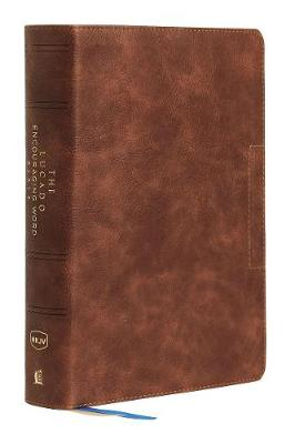 NKJV, Lucado Encouraging Word Bible, Leathersoft, Brown, Thumb Indexed, Comfort Print: Holy Bible, New King James Version (Leather / fine binding)