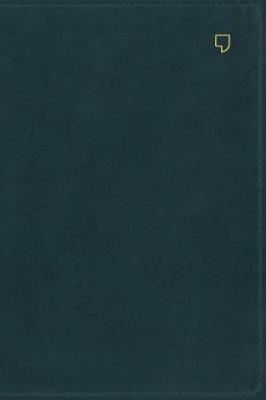 NET Bible, Thinline, Leathersoft, Teal, Comfort Print: Holy Bible (Leather / fine binding)