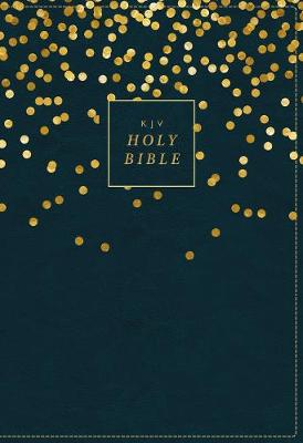 KJV, Thinline Bible Youth Edition, Leathersoft, Blue, Red Letter Edition, Comfort Print (Leather / fine binding)