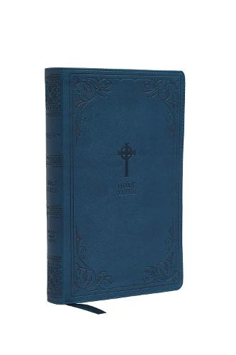 NRSV, Catholic Bible, Gift Edition, Leathersoft, Teal, Comfort Print: Holy Bible (Leather / fine binding)
