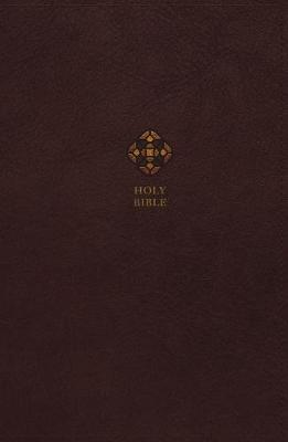 NRSV, Catholic Bible, Journal Edition, Leathersoft, Brown, Comfort Print: Holy Bible (Leather / fine binding)