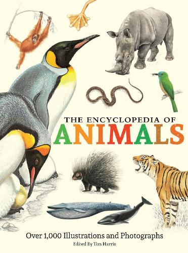 The Encyclopedia of Animals: More than 1,000 Illustrations and Photographs (Hardback)