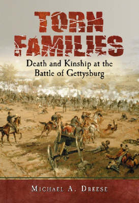 Torn Families: Death and Kinship at the Battle of Gettysburg (Hardback)