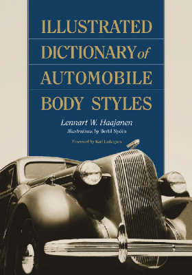 Illustrated Dictionary of Automobile Body Styles (Paperback)