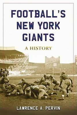 Football's New York Giants: A History (Paperback)