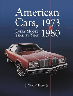 American Cars, 1973-1980 (Hardback)