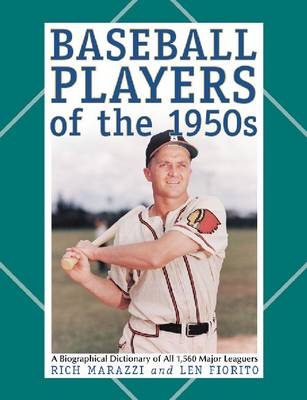 BASEBALL PLAYERS OF THE 1950S (Paperback)