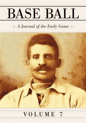 Base Ball: A Journal of the Early Game (Paperback)
