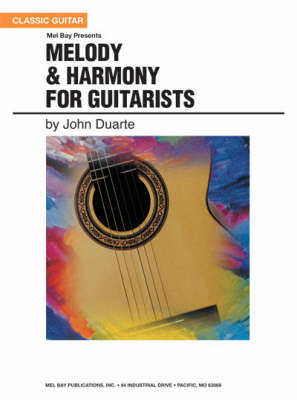 Melody and Harmony for Guitarists (Paperback)