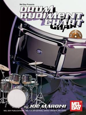 Drum Rudiment Chart (Wallchart)