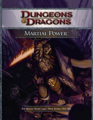 Martial Power - Dungeons & Dragons (Hardback)