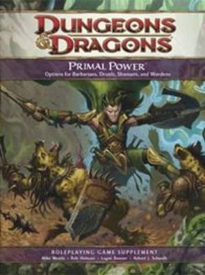 Primal Power - Dungeons & Dragons (Hardback)