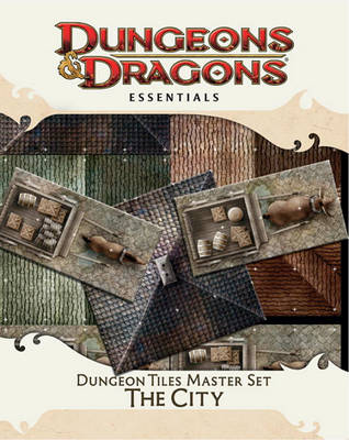 """Dungeon Tiles Master Set - the City - """"Dungeons & Dragons"""" Accessory (Hardback)"""