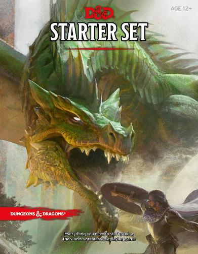 Dungeons & Dragons Starter Set (Six Dice, Five Ready-to-Play D&D Characters With Character Sheets, a Rulebook, and One Adventure): Fantasy Roleplaying Game Starter Set - Dungeons & Dragons
