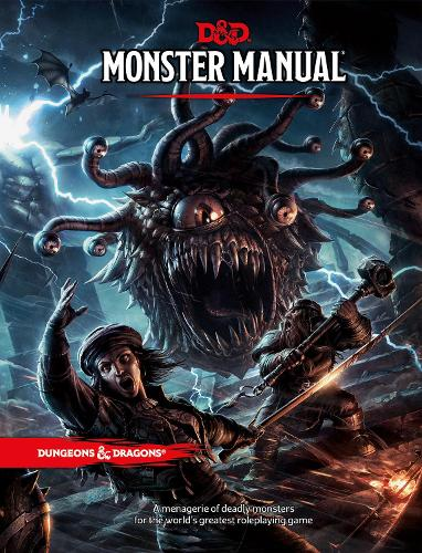 Monster Manual: A Dungeons & Dragons Core Rulebook (Hardback)