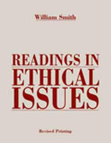 Readings in Ethical Issues (Paperback)