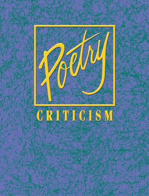 Poetry Criticism (Hardback)